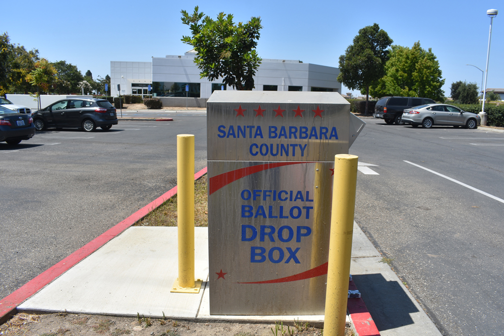 What is Santa Barbara County Elections currently doing to ensure the security of their systems?