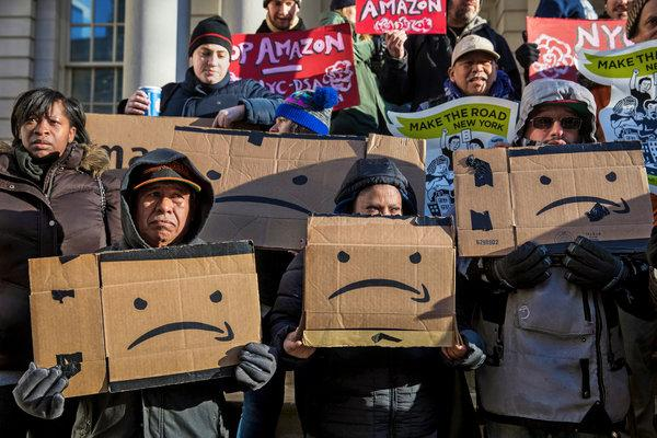 Amazon Pulls Out of Planned New York City Headquarters
