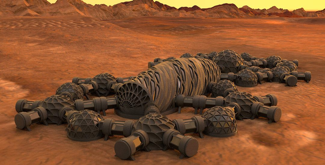 3D Printing in Space With Moon Dust Is the Secret to Your Future Home on Mars