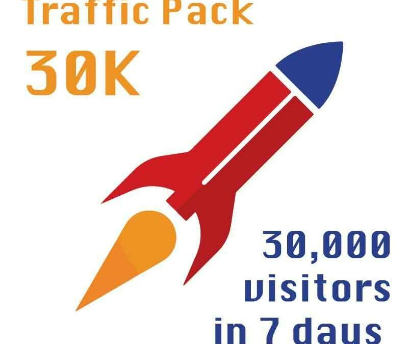Jeremiah's Traffic Pack – 30k in a week for $50
